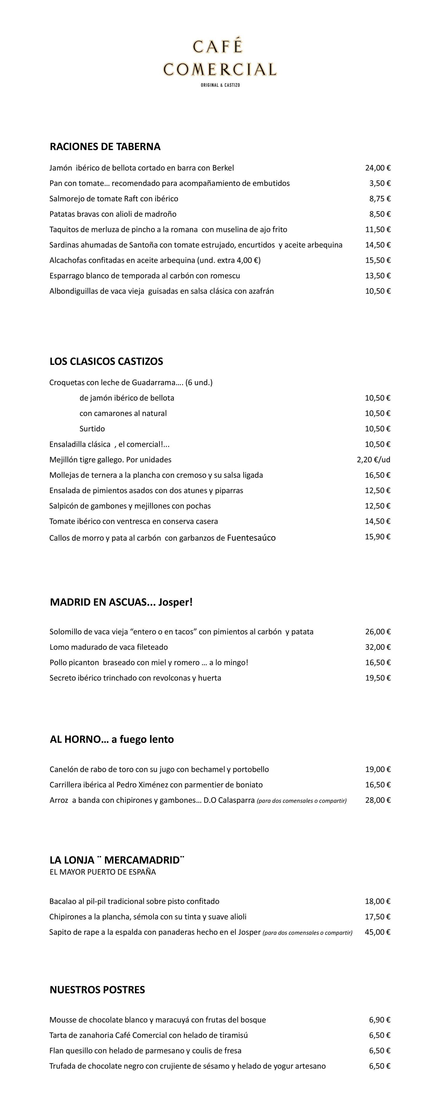 Carta-restaurante-café-comercial